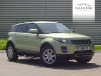 2012 LAND ROVER RANGE ROVER EVOQUE 2.2 SD4 PURE TECH 5d AUTO 190 BHP £20995.00