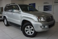 2007 TOYOTA LAND CRUISER 3.0 INVINCIBLE D-4D 8STR 5d 171 BHP £14750.00