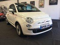 2008 FIAT 500 1.2 LOUNGE 3d 69 BHP £3795.00