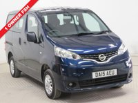 USED 2015 15 NISSAN NV200 1.5 DCI ACENTA COMBI 5d 90 BHP 7 Seats ***1 Owner, Full Service History, 7 Seats, Air Conditioning, Reversing Camera, USB/AUX, Bluetooth. Nationwide Delivery Available. Finance available at 9.9% APR Representative.***