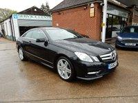 2012 MERCEDES-BENZ E CLASS 2.1 E220 CDI BLUEEFFICIENCY SPORT 2d AUTO 170 BHP £12990.00