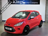 USED 2011 11 FORD KA 1.2 STUDIO 3dr  £30 Tax, White Mirrors & Handles, Lovely Example, Ave 67 MPG