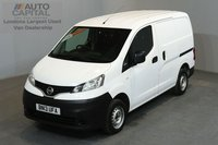 USED 2013 13 NISSAN NV200 1.5 SE DCI 89 BHP 2 OWNER FROM NEW, FULL SERVICE HISTORY
