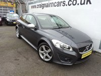 USED 2011 11 VOLVO C30 2.0 R-DESIGN 3d 145 BHP Two Owners 32000 Miles Full History+History