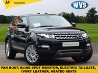 USED 2013 63 LAND ROVER RANGE ROVER EVOQUE 2.2 SD4 PRESTIGE LUX 5d AUTO 190 BHP Over £5000 of extra's fitted to this 2013 Range Rover Evoque 2.2 SD4 PRESTIGE LUX AUTO in black metallic with an ivory cream leather interior.