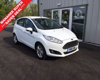 USED 2016 16 FORD FIESTA 1.25 ZETEC THIS VEHICLE IS AT SITE 1 - TO VIEW CALL US ON 01903 892 224