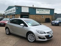 2013 VAUXHALL ASTRA 1.6 ENERGY 5 DOOR 113 BHP SOVEREIGN SILVER METALLIC LED DRL £6695.00