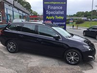 USED 2015 64 PEUGEOT 308 1.6 BLUE HDI S/S SW ALLURE 5d 120 BHP, ONLY 20000 MILES ***GREAT FINANCE DEALS AVAILABLE***
