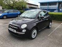 2013 FIAT 500 1.2 LOUNGE 3d 69 BHP £4891.00