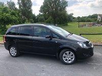 2012 VAUXHALL ZAFIRA 1.6 DESIGN 5d 113 BHP £5494.00