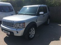 2011 LAND ROVER DISCOVERY 3.0 4 SDV6 COMMERCIAL 1d AUTO 245 BHP ONE OWNER FSH £13900.00