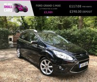 """USED 2011 11 FORD GRAND C-MAX 1.6 TITANIUM TDCI 5d 114 BHP 1 OWNER FULL SERVICE HISTORY 7 SEATER AIR CON 18"""" ALLOYS CAMBELT"""