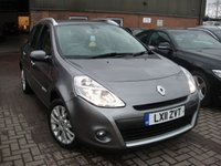 2011 RENAULT CLIO 1.6 DYNAMIQUE TOMTOM VVT 5d AUTO 111 BHP £3780.00