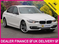 USED 2012 12 BMW 3 SERIES 2.0 320D M SPORT FULL BLACK LEATHER £30 ROAD TAX FULL BLACK LEATHER CRUISE BLUETOOTH