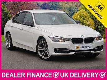 2012 BMW 3 SERIES 2.0 320D M SPORT FULL BLACK LEATHER £10950.00