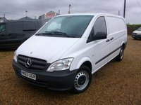 USED 2014 63 MERCEDES-BENZ VITO 2.1 113 CDI 1d 136 BHP 2014 113CDI LWB TAIL GATE