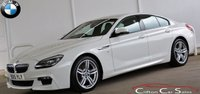 2015 BMW 6 SERIES 640d M-SPORT GRAN COUPE AUTO 309 BHP £SOLD