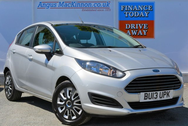 2013 13 FORD FIESTA 1.5 STYLE TDCI 5d Hatchback with Zero Road Tax and High 76mpg