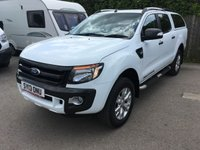 2013 FORD RANGER 3.2 WILDTRAK 4X4 DCB TDCI 1d AUTO 197 BHP CANOPY ONE LEATHER OWNER FSH £16400.00