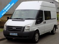USED 2011 61 FORD TRANSIT 2.4 RWD 350 LWB HIGH ROOF MESS / UTILITY 100 BHP 6 SPEED 1 Owner, Full Service History