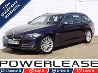 USED 2014 64 BMW 5 SERIES 2.0 520D LUXURY TOURING 5d AUTO 188 BHP PRO NAV DAB FBMWSH 1 OWNER