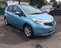 2014 NISSAN NOTE 1.2 ACENTA DIG-S 5d AUTO 98 BHP £7999.00