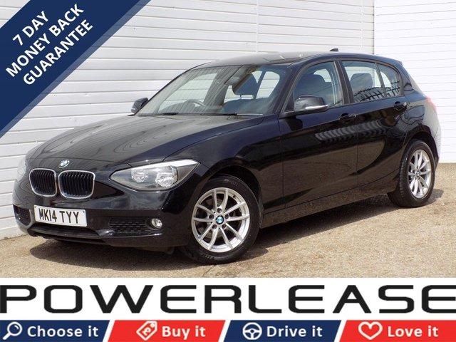 USED 2014 14 BMW 1 SERIES 1.6 116I SE 5d 135 BHP PARKING SENSORS DAB FSH 1OWNER