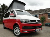 2017 VOLKSWAGEN TRANSPORTER 2.0 TDI T6 Highline Camper Van Brand New Conversion, A/C, Cruise £38995.00