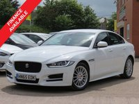 USED 2015 65 JAGUAR XE 2.0 R-SPORT 4d 161 BHP SATELLITE NAVIGATION, LEATHER + MANUFACTURERS WARRANTY