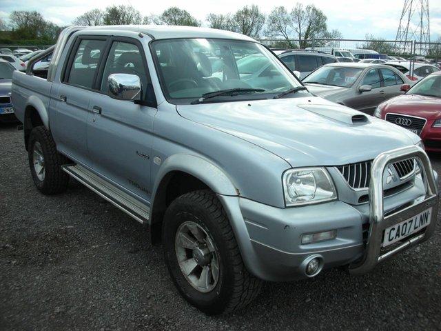 2007 07 MITSUBISHI L200 2.5 4WD TROJAN LWB DCB 1d 114 BHP