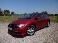 2014 HONDA CIVIC 1.8 I-VTEC S 5d AUTO 140 BHP £8490.00