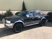 USED 2004 FORD RANGER 2.5 THUNDER D/C 1d 107 BHP LOW MILES, LEATHER, A BAR, ROLL BAR, CONTRAST BLACK ALLOYS