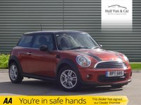 USED 2012 62 MINI ONE 3 DOOR HATCHBACK WITH AIR CON ALLOYS, AIR CONDITIONING