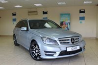 2012 MERCEDES-BENZ C CLASS 2.1 C250 CDI BLUEEFFICIENCY AMG SPORT PLUS 5d AUTO 202 BHP ESTATE £12450.00