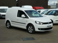 2014 VOLKSWAGEN CADDY 2.0TDi C20  HIGHLINE  140 BHP - Navigation £9495.00
