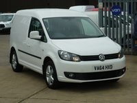 2015 VOLKSWAGEN CADDY 2.0TDi C20  HIGHLINE  140 BHP - Navigation £10495.00