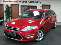 2013 FORD MONDEO 2.0 TITANIUM X BUSINESS EDITION TDCI 5d AUTO 161 BHP £10750.00