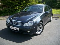 USED 2005 55 MERCEDES-BENZ C CLASS 2.1 C220 CDI SE SPORTS 3d AUTO 148 BHP Beautiful Example, JUST 62,000 Miles From New with Full Service History, Outstanding Value Stylish Mercedes Coupe!!!