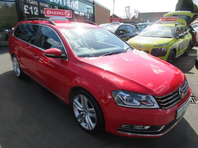USED 2014 64 VOLKSWAGEN PASSAT 1.6 EXECUTIVE STYLE TDI BMT 5d 104 BHP DIESEL ESTATE JUST ARRIVED CALL 01543 379066