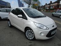 USED 2011 61 FORD KA 1.2 ZETEC 3d 69 BHP Low Mileage, Full Service History & A Lovely Colour