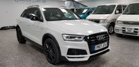USED 2017 17 AUDI Q3 2.0 TDI QUATTRO S LINE BLACK EDITION 5d AUTO 182 BHP BLACK EDITION Q3 WITH LOTS OF ADDED EXTRAS!