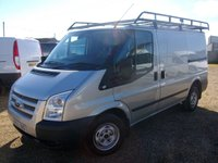 USED 2013 63 FORD TRANSIT 2.2 260 TREND LR 1d 124 BHP ONE OWNER FROM NEW FULL DEALER SERVICE HISTORY