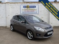 USED 2013 13 FORD C-MAX 1.6 TITANIUM X TDCI 5d 114 BHP Full Service History Huge Spec 0% Deposit Finance Available