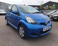 USED 2010 10 TOYOTA AYGO 1.0 BLUE VVT-I 5d 67 BHP **Ideal 1st Car £20 Yearly Tax 12 Months Mot**