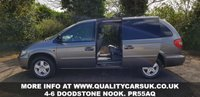 USED 2007 57 CHRYSLER GRAND VOYAGER 2.8 CRD EXECUTIVE XS 5d AUTO 151 BHP