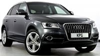 USED 2015 15 AUDI Q5 3.0 TDI S line Plus S Tronic Quattro (s/s) 5dr HDD Nav, DAB, Heated Leather +