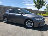 2013 LEXUS CT 1.8 200H LUXURY 5d AUTO 136 BHP £7850.00