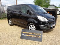 USED 2016 66 FORD TRANSIT CUSTOM VAN 2.0 270 LIMITED LR P/V 5d 130 BHP L1 H1 *NO VAT*