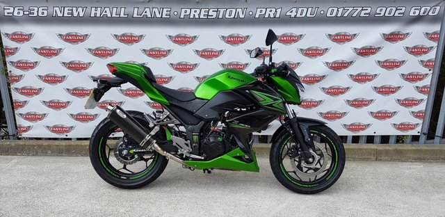 View our KAWASAKI Z300