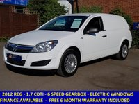 2012 VAUXHALL ASTRA 1.7 CDTI 110BHP CLUB WITH FULL HISTORY £4795.00